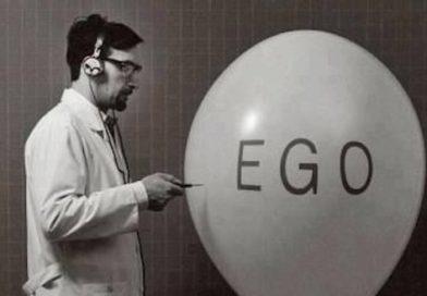 Atitude reta do eu para atos corretos do ego